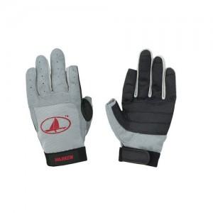 "Ръкавици ""Харкен"" дълги пръсти, сиво"