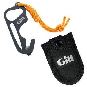 Нож авариен с калъф за колан GILL TITANIUM