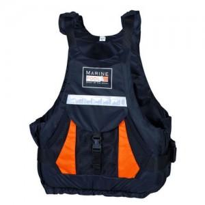 "Спасителна жилетка ""Expedition Kayak PE ISO"" черно/оранжево"