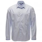 """Мъжка риза """"Joshua"""" бяло/светло синьо"""