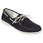 """Обувки мокасини """"Stresa Classic""""  тъмно синьо"""