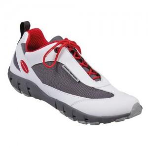 """Обувки палубни """"Team Pro Tec"""" бяло/червено"""