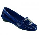 """Обувки дамски """"Vanessa"""" тъмно синьо"""
